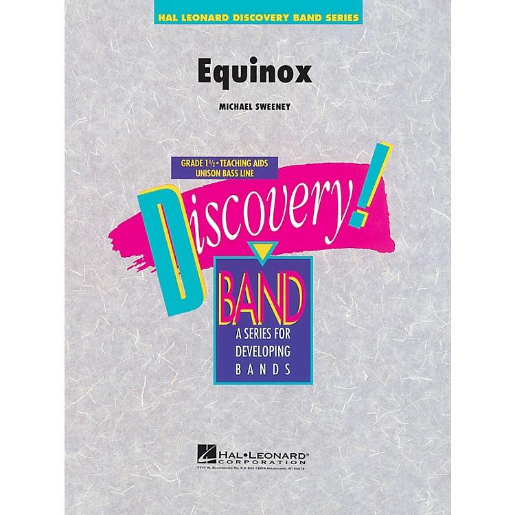 Hal LeonardEquinox Concert Band Level 1.5 Composed by Michael Sweeney