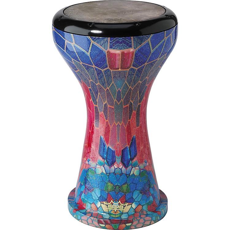 RemoErgo-Drum DoumbekFabric Sapphire9 in.