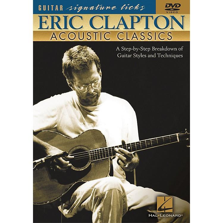 Hal LeonardEric Clapton - Acoustic Classics (DVD)