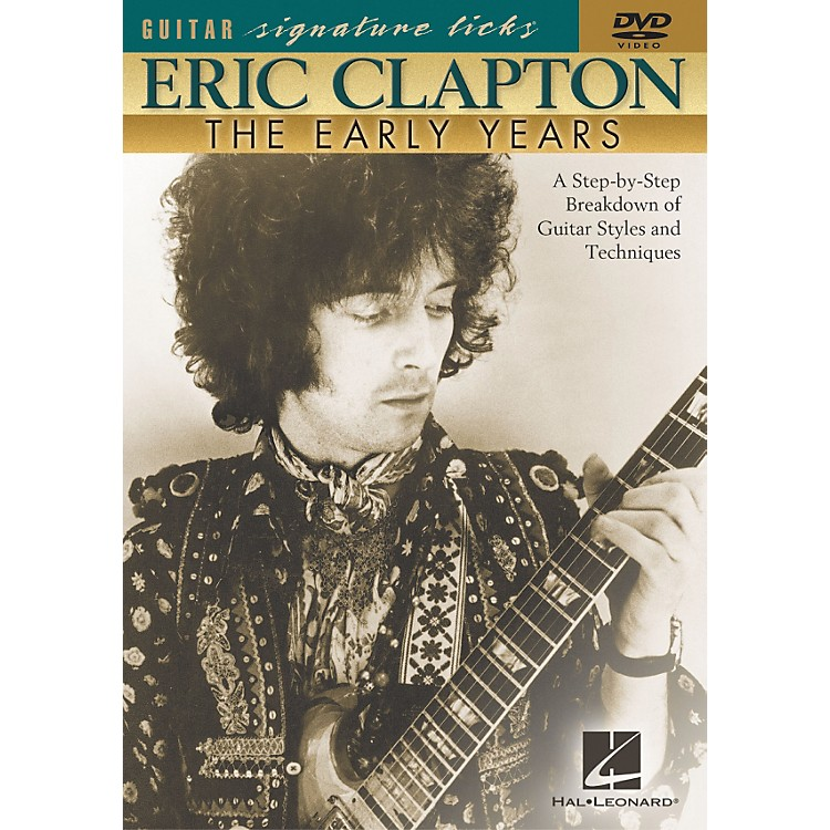 Hal LeonardEric Clapton - The Early Years (DVD)