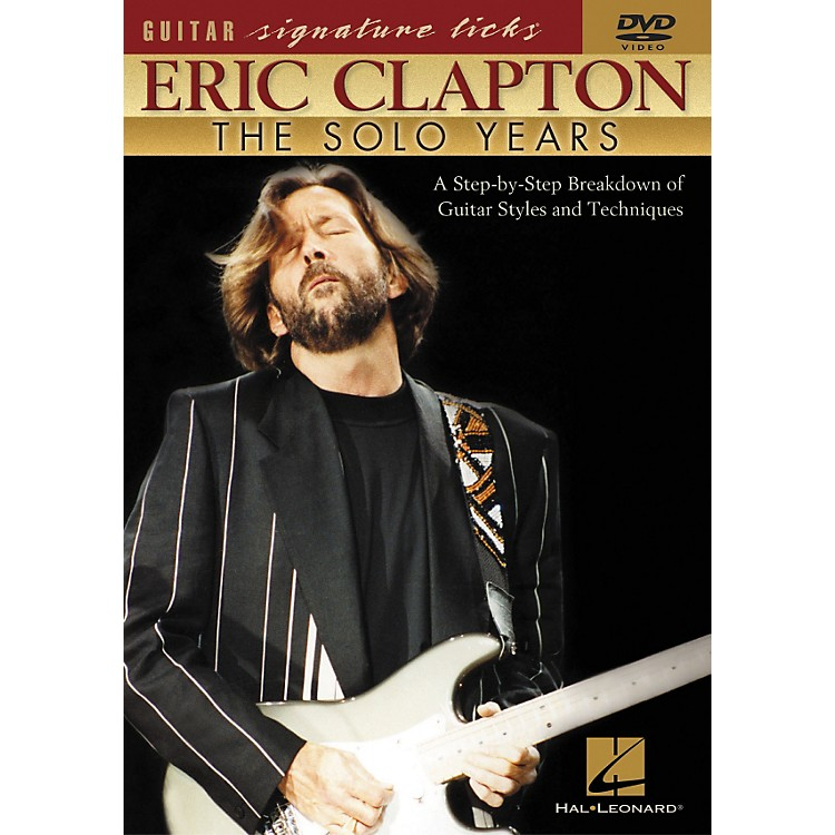 Hal LeonardEric Clapton - The Solo Years DVD