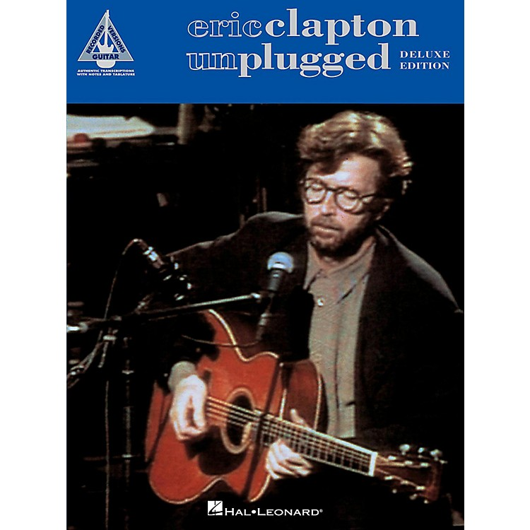 Hal LeonardEric Clapton - Unplugged Deluxe Edition Tab Songbook