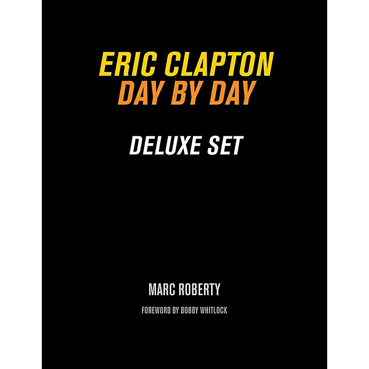Backbeat Books Eric Clapton, Day By Day Deluxe Set Book