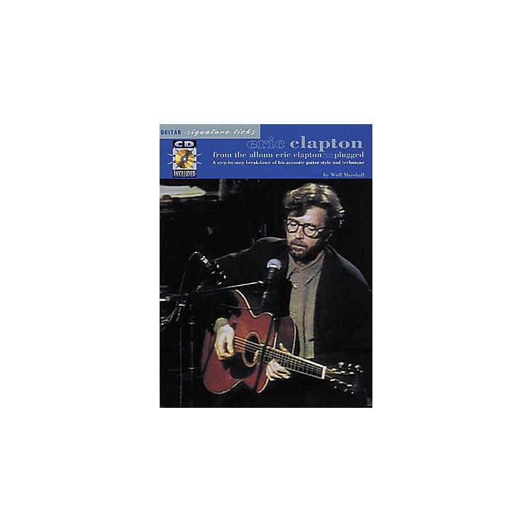 Hal LeonardEric Clapton Unplugged Guitar Signature Licks Book with CD