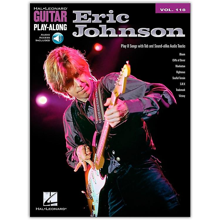Hal LeonardEric Johnson - Guitar Play-Along Volume 118 Book/Online Audio