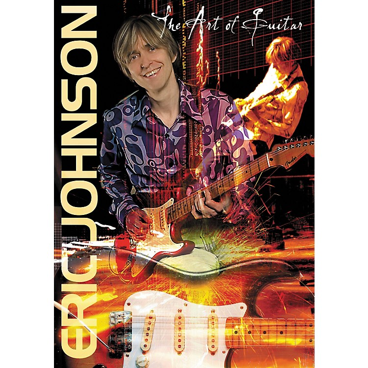 Hal Leonard Eric Johnson - The Art of Guitar (DVD)