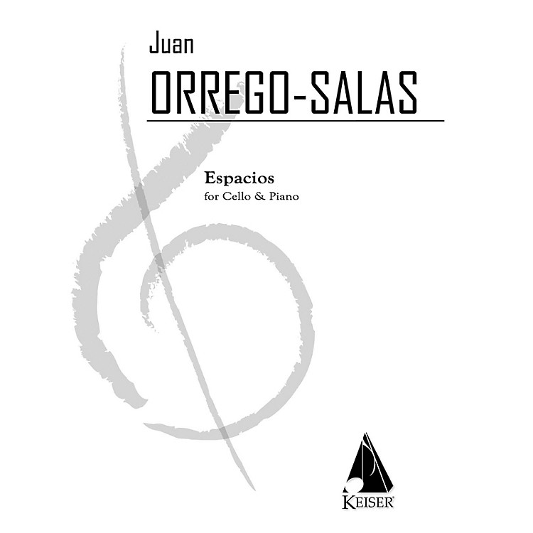 Lauren Keiser Music PublishingEspacios, Op. 115: A Rhapsody for Cello and Piano LKM Music Series Composed by Juan Orrego-Salas