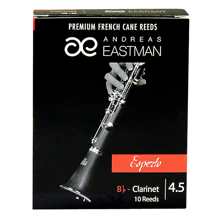 Andreas Eastman Esperto Bb Clarinet Reeds Strength 4.5 Box of 10