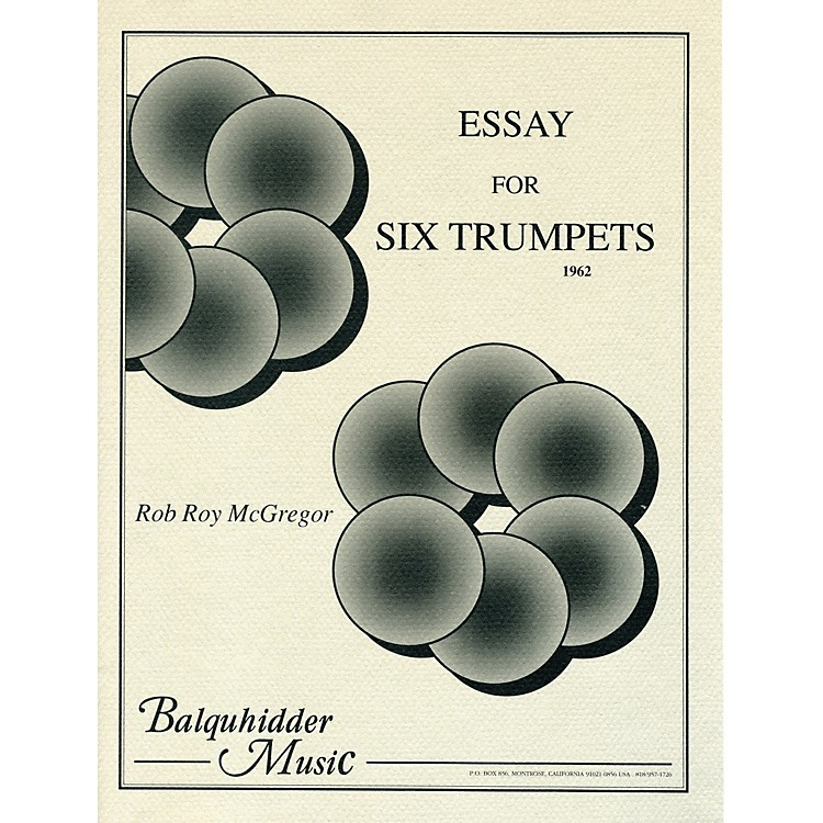 Carl Fischer Essay for Six Trumpets Book