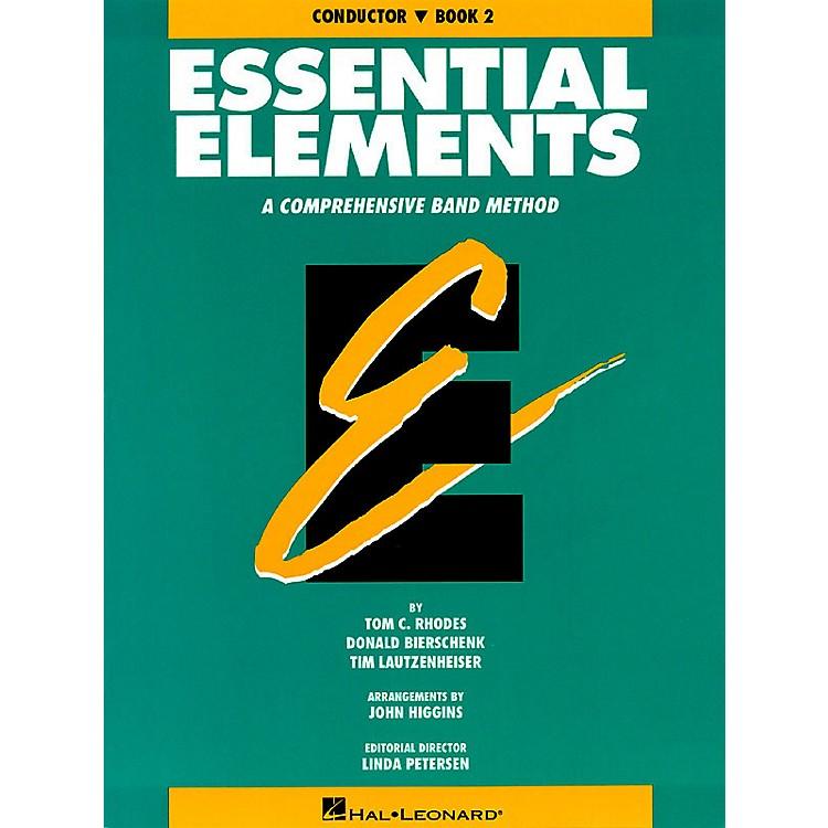 Hal LeonardEssential Elements - Book 2 (Original Series) (Conductor) Concert Band
