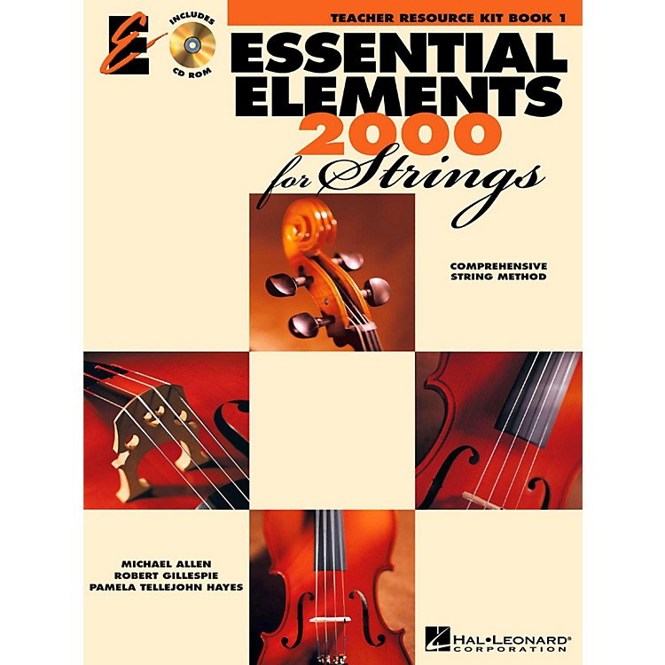 Hal LeonardEssential Elements 2000 for Strings - Teacher Resource Kit (Book 1 with CD-ROM)