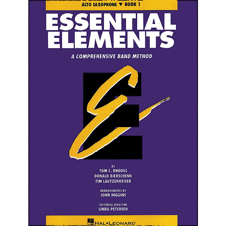 Hal LeonardEssential Elements Book 1 E Flat Alto Saxophone