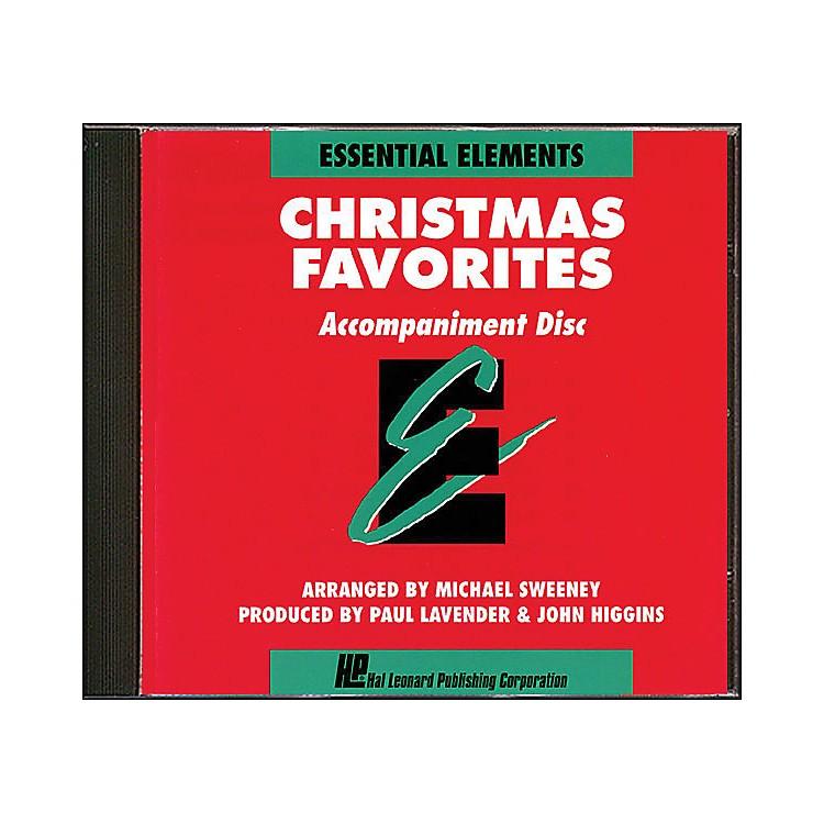 Hal LeonardEssential Elements Christmas Favorites Accompaniment CD