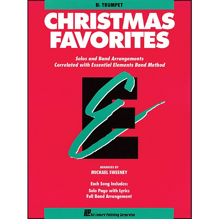 Hal LeonardEssential Elements Christmas Favorites B Flat Trumpet