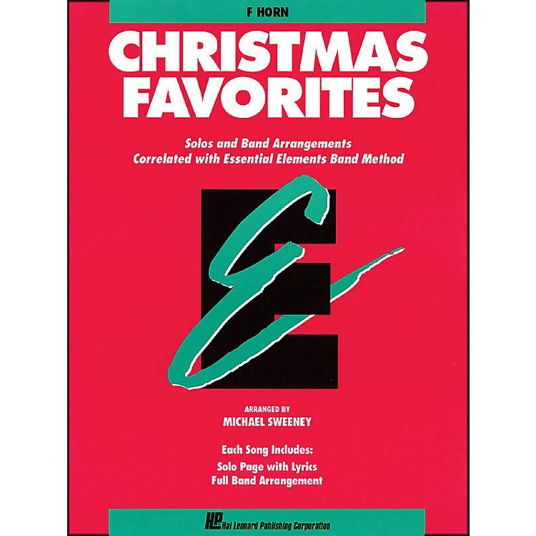 Hal LeonardEssential Elements Christmas Favorites F Horn