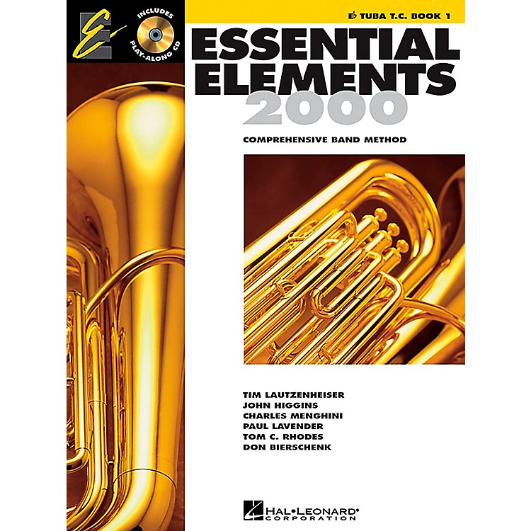 Hal LeonardEssential Elements E-Flat Tuba T.C. Book 1 Book/CD