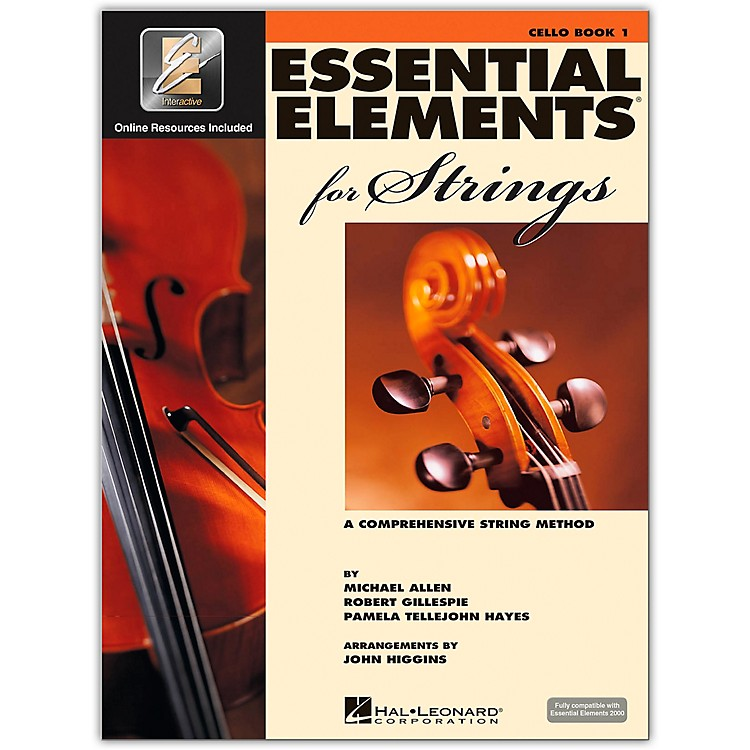 Hal Leonard Essential Elements For Strings Cello (Book 1 with EEi)