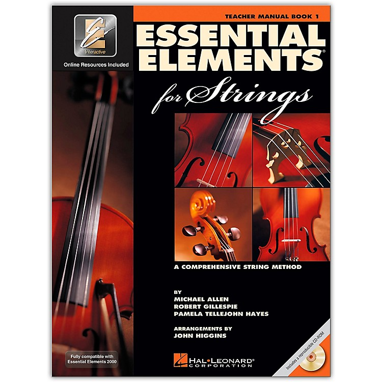 Hal LeonardEssential Elements For Strings Teacher's Manual (Book 1 with EEi and CD-ROM)