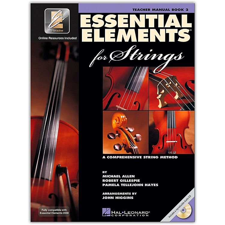 Hal LeonardEssential Elements For Strings Teacher's Manual (Book 2 with EEi and CD)