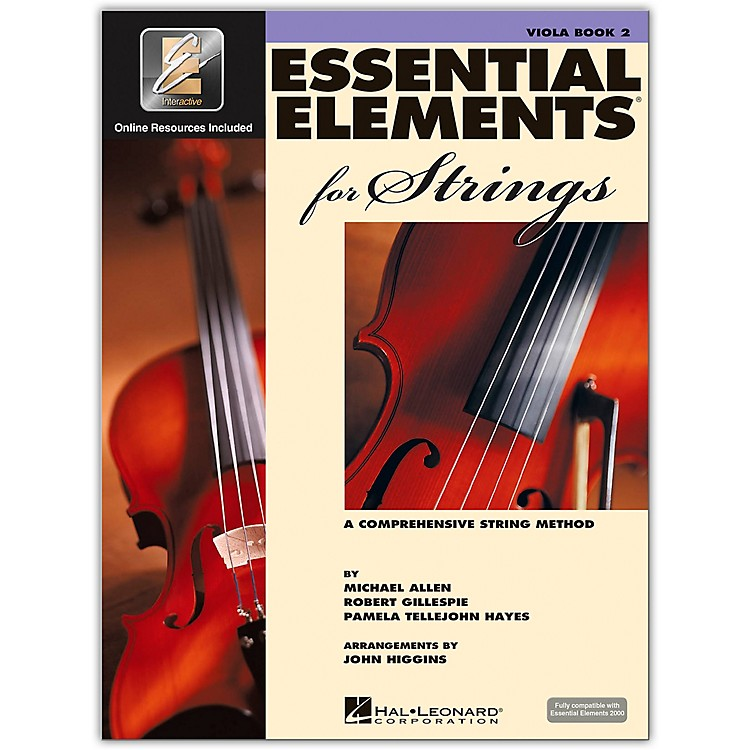 Hal LeonardEssential Elements For Strings Viola (Book 2 with EEi)