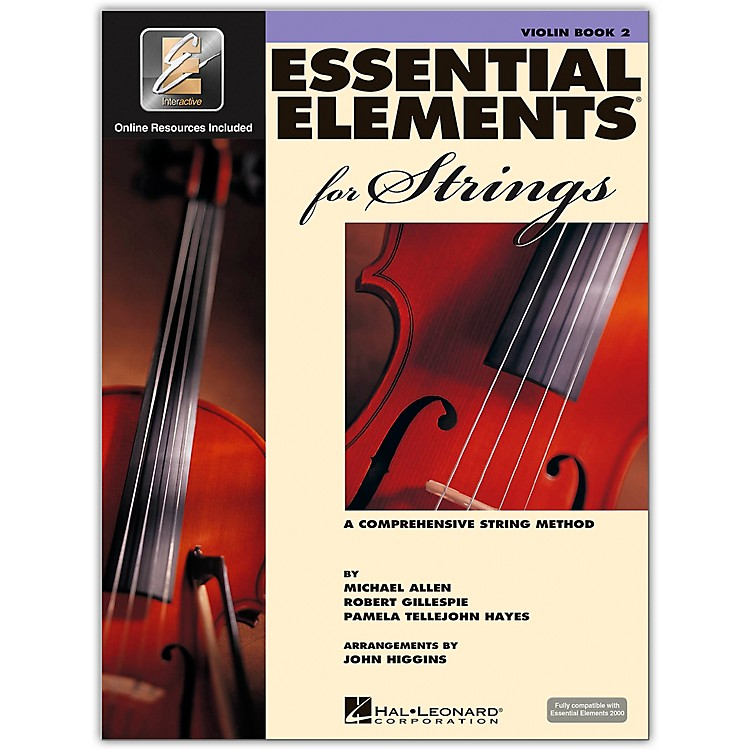 Hal LeonardEssential Elements For Strings Violin (Book 2 with EEi)