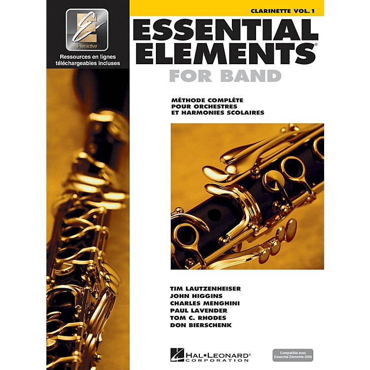 Hal LeonardEssential Elements French Edition EE2000 Clarinet B-flat Essential Elements for Band Series Softcover Media Online