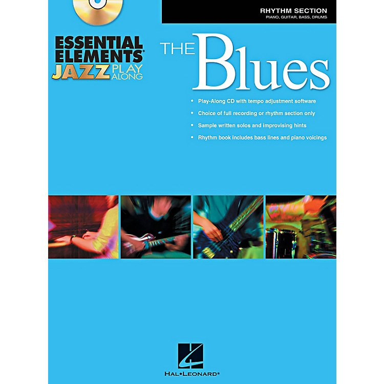 Hal Leonard Essential Elements Jazz Play-Along - The Blues (Rhythm Section) Book/CD