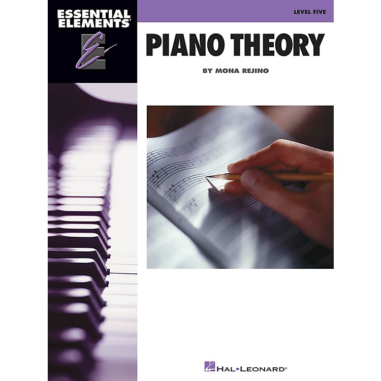 Hal LeonardEssential Elements Piano Theory - Level 5 Educational Piano Library Series Softcover by Mona Rejino