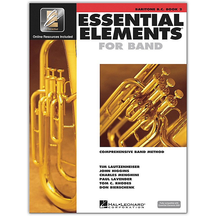 Hal Leonard Essential Elements for Band - Bariton B.C. 2 Book/Online Audio