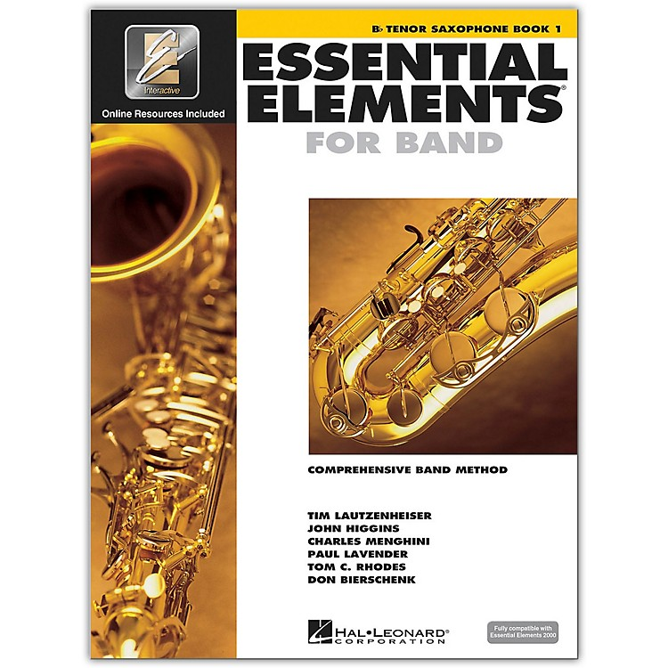 Hal Leonard Essential Elements for Band - Bb Tenor Saxophone 1 Book/Online Audio