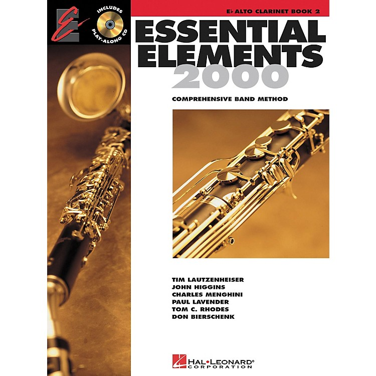 Hal LeonardEssential Elements for Band - Eb Alto Clarinet (Book 2 with EEi)
