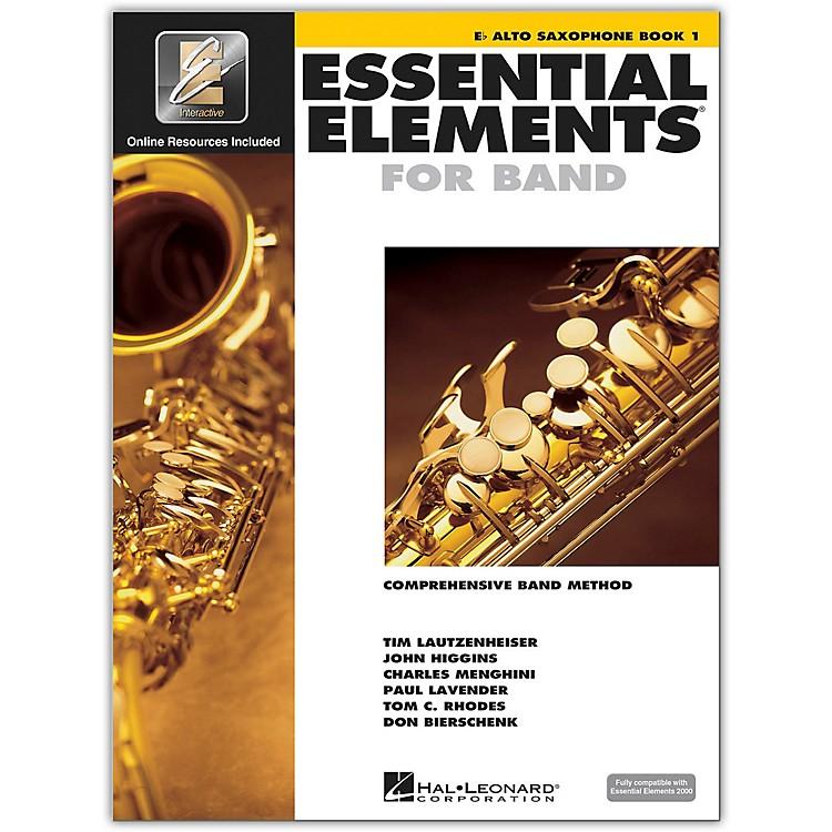 Hal LeonardEssential Elements for Band - Eb Alto Saxophone 1 Book/Online Audio