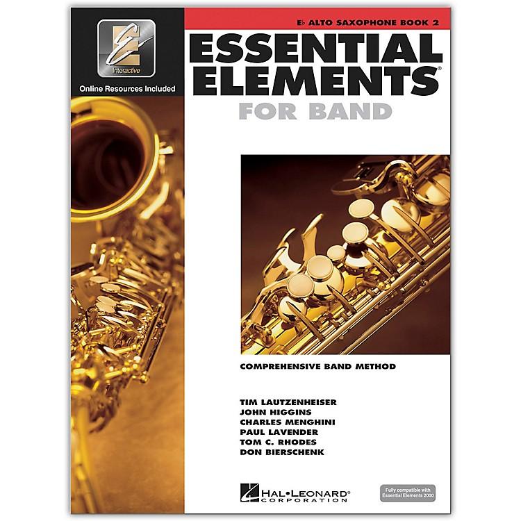 Hal LeonardEssential Elements for Band - Eb Alto Saxophone 2 Book/Online Audio