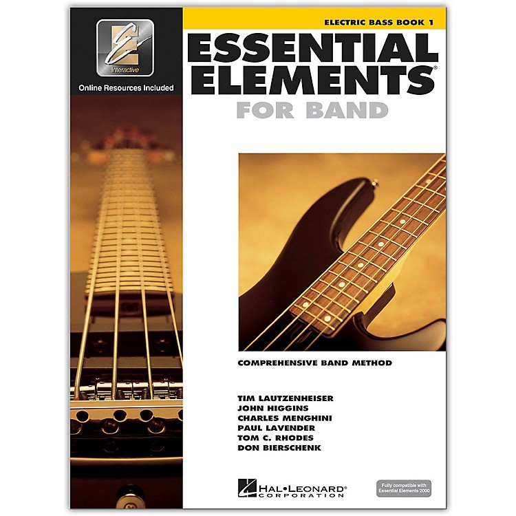 Hal LeonardEssential Elements for Band - Electric Bass 1 Book/Online Audio