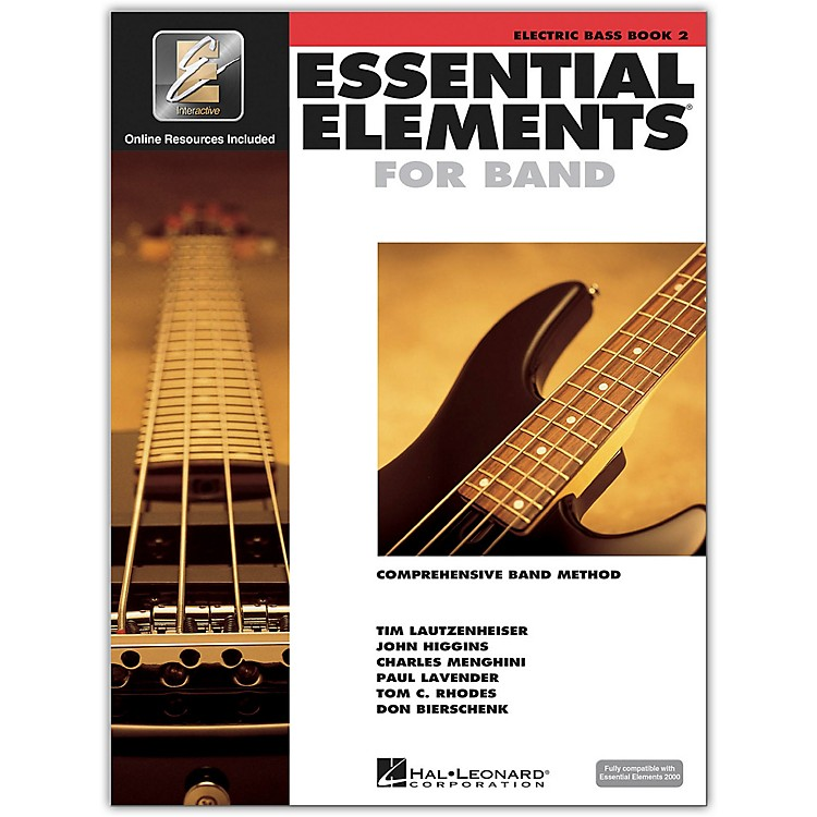 Hal LeonardEssential Elements for Band - Electric Bass 2 Book/Online Audio