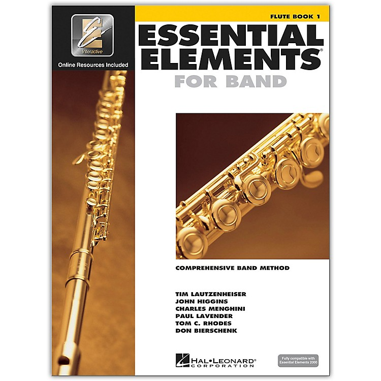 Hal LeonardEssential Elements for Band - Flute 1 Book/Online Audio