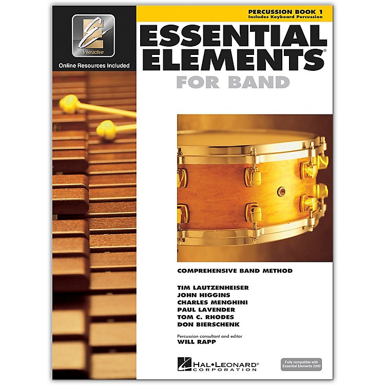 Hal LeonardEssential Elements for Band - Percussion and Keyboard Percussion 1 Book/Online Audio
