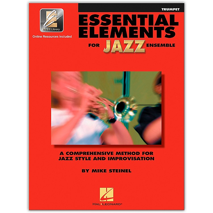 Hal Leonard Essential Elements for Jazz Ensemble - Bb Trumpet (Book/Online Audio)