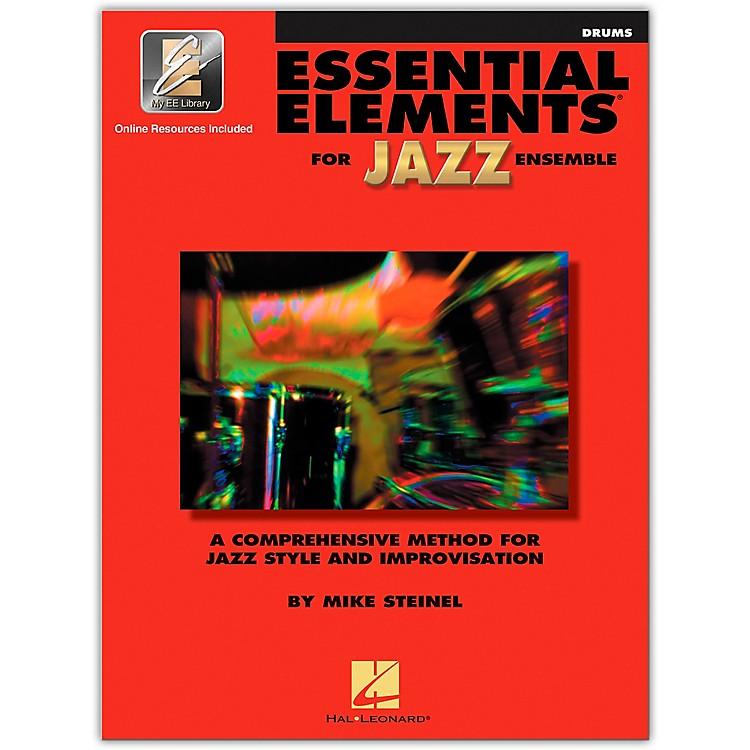 Hal LeonardEssential Elements for Jazz Ensemble - Drums (Book/Online Audio)