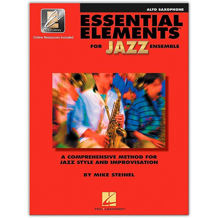 Hal LeonardEssential Elements for Jazz Ensemble - Eb Alto Saxophone (Book/Online Audio)