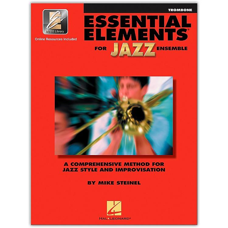 Hal LeonardEssential Elements for Jazz Ensemble - Trombone (Book/Online Audio)