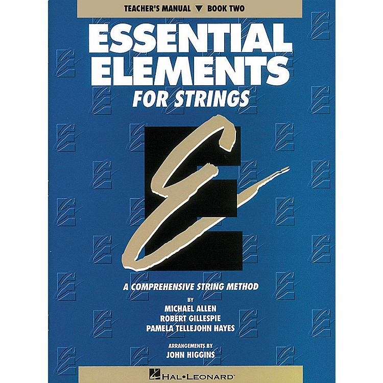 Hal LeonardEssential Elements for Strings - Book 2 (Original Series) Essential Elements Series Softcover
