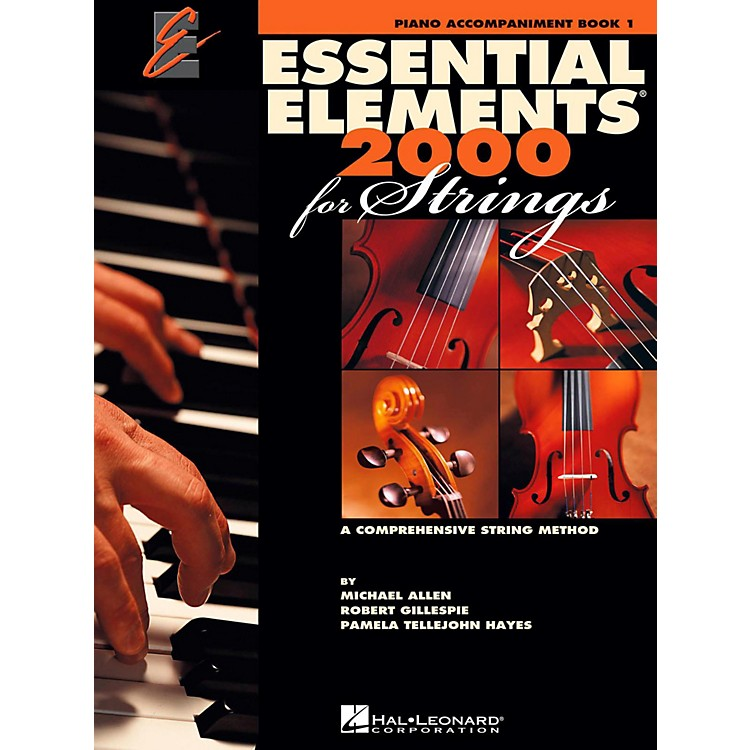 Hal LeonardEssential Elements for Strings - Piano Accompaniment (Book 1)