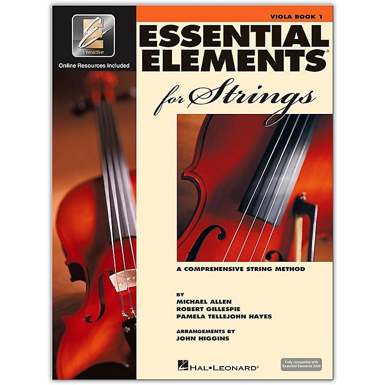 Hal LeonardEssential Elements for Strings - Viola 1 Book/Online Audio