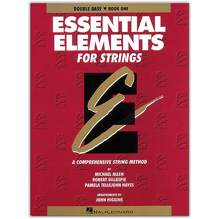 Hal LeonardEssential Elements for Strings Book 1 Bass