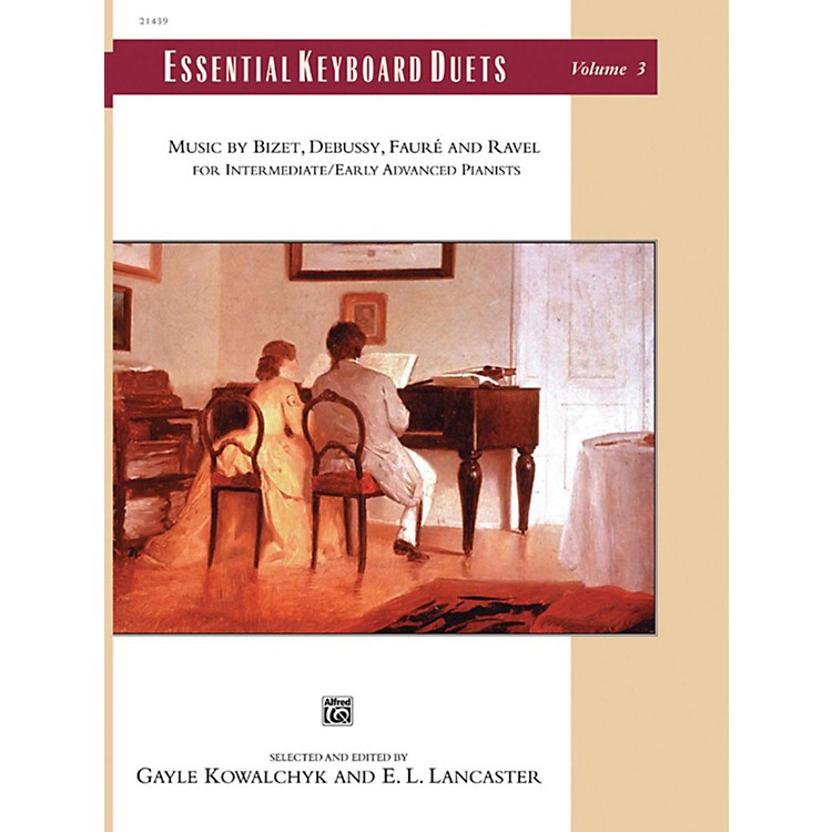 AlfredEssential Keyboard Duets, Volume 3 Intermediate / Early Advanced