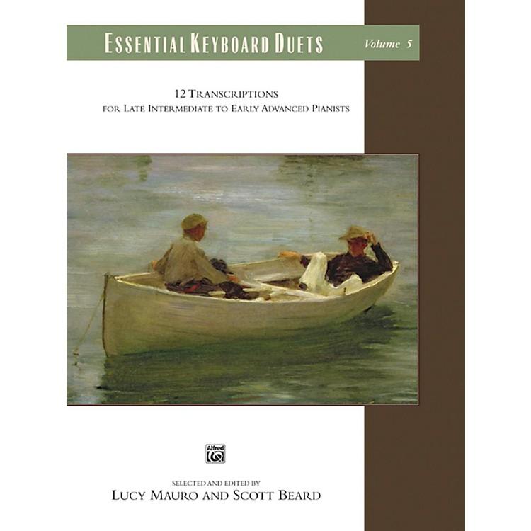 AlfredEssential Keyboard Duets, Volume 5 Late Intermediate / Early Advanced