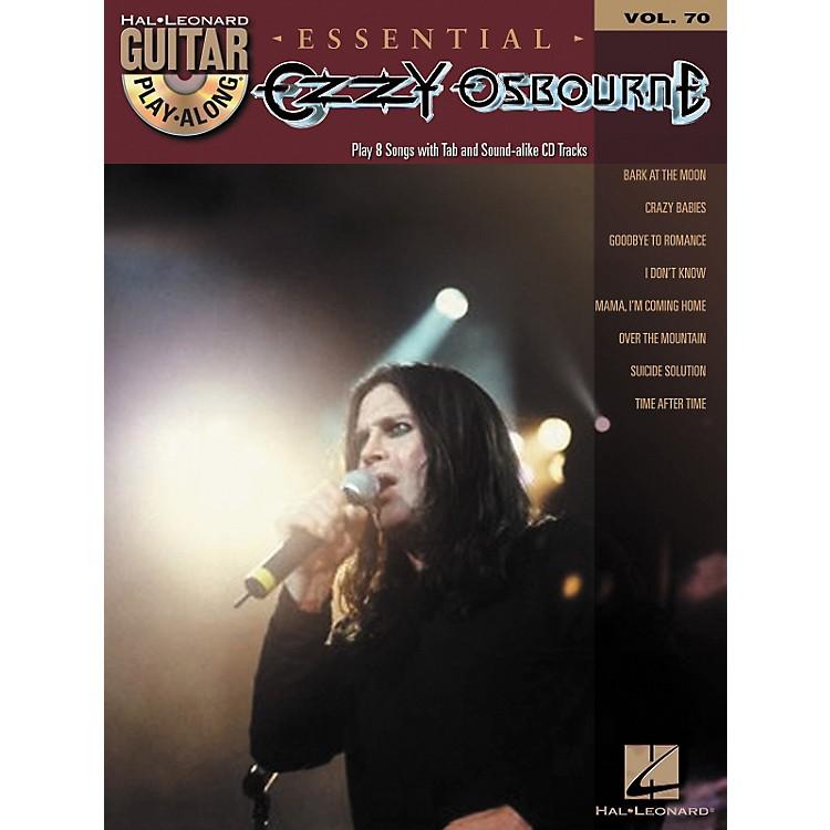 Hal LeonardEssential Ozzy Osbourne - Guitar Play-Along Volume 70 Book/CD