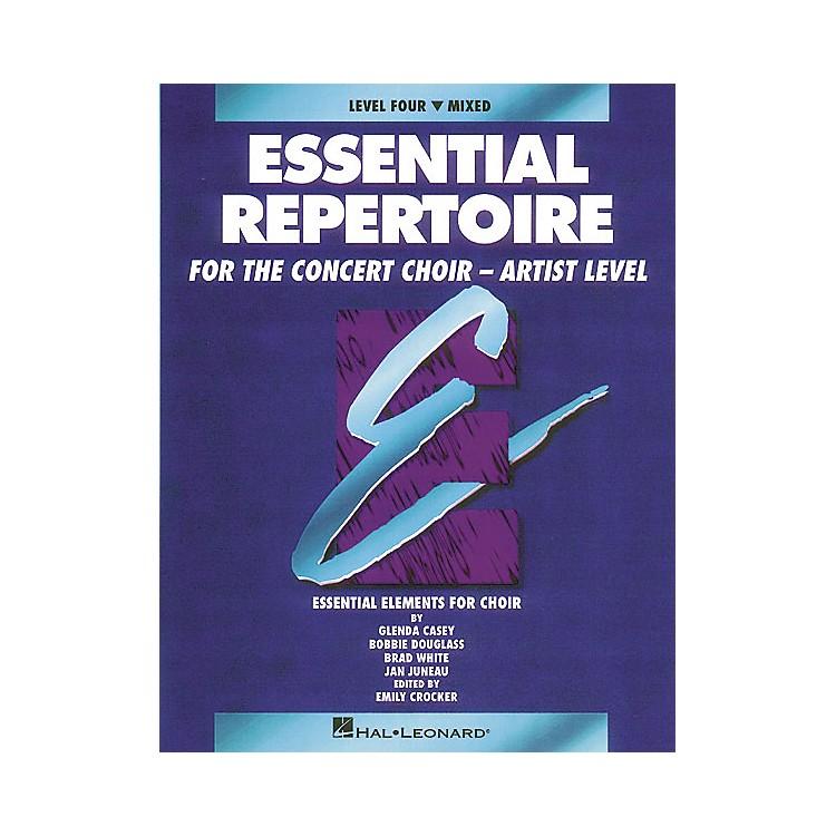 Hal LeonardEssential Repertoire for the Concert Choir - Artist Level Mixed Part-Learning CDs(4) by Glenda Casey