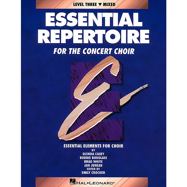 Hal LeonardEssential Repertoire for the Concert Choir Mixed/Student 10-Pak Composed by Glenda Casey